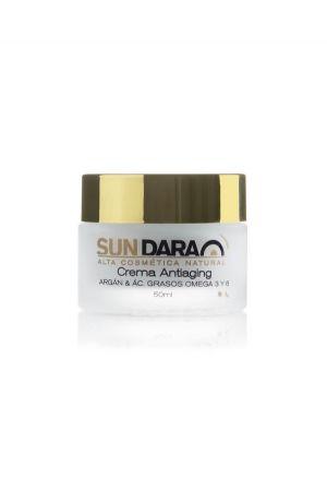 Sundara crema antiaging argan acidos grasos omega
